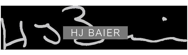Goldschmiede HJ Baier in Konstanz - Logo light